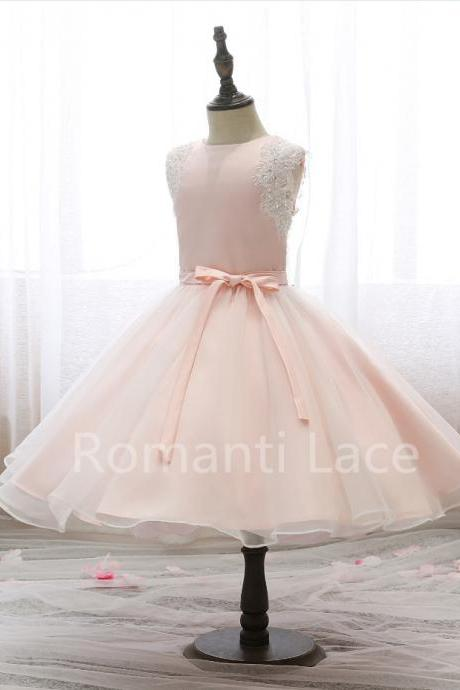 Flower girl Dress,Flower girl Dress Dresses,Cute Flower girl Gowns