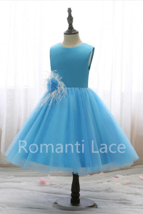 Flower Girl Dresses, Short Flower Girl Dress, Cheap Littler Girl Dress, Dresses For Litter Girls
